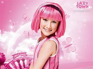 Download Lazytown Pink Wallpaper 1600x1200 | Wallpoper #415181