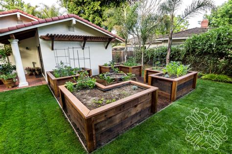 raised bed vegetable garden casa smith designs