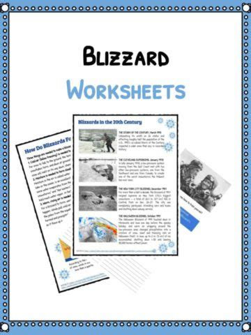 physics of snowboarding worksheet disaster worksheets facts historical
