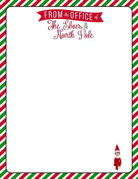 elf   shelf  letter   printable