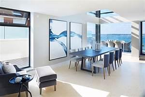 salle a manger design contemporain en 35 idees inspirantes With salle À manger contemporaine avec chaise salle a manger noire design