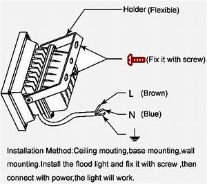 How To Wire Flood Lights In Series