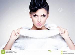Beauty Shot Of Beautiful Woman Wearing Professional Make ...