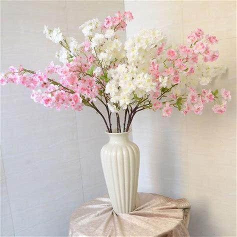 pclot artificial sakura cherry blossom flower househodl