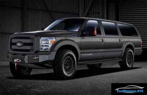 ford excursion interior price release date