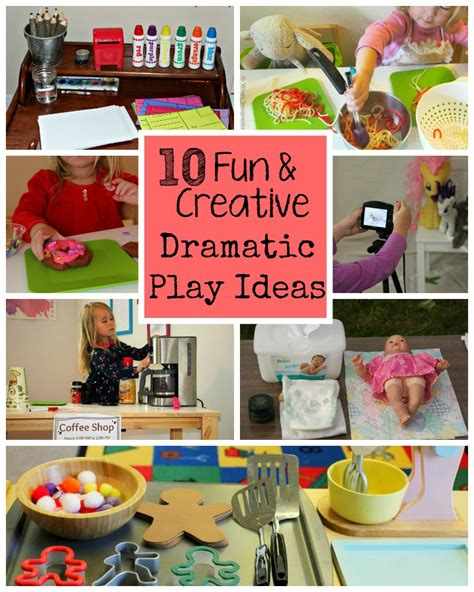 10 Fun & Creative Dramatic Play Ideas For Preschoolers  Where Imagination Grows