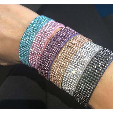 lemonade crystal mesh bracelets  colours shop