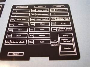 Fuse Box Labels  Evo2