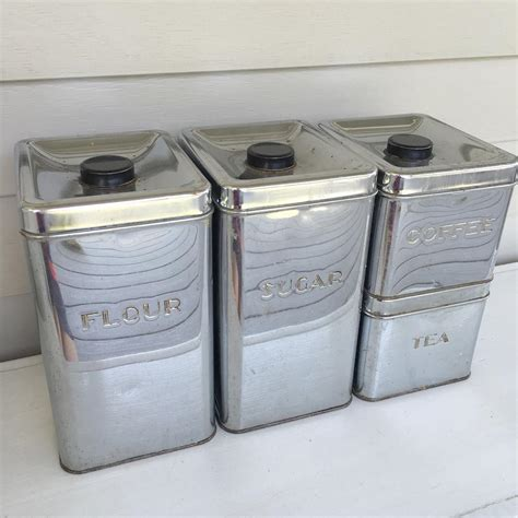 vintage metal kitchen canisters metal kitchen canister sets 28 images kitchen