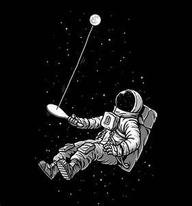 Space and Astronaut illustration by Ben Chen | astronauta ...