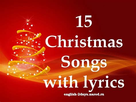 how to write a classic christmas song and why it s harder than 15 christmas songs with lyrics рождественские песни