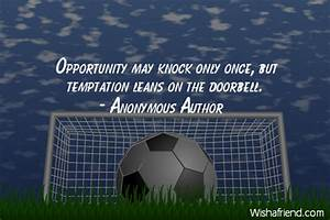 Opportunity Quo... Temptation Opportunity Quotes