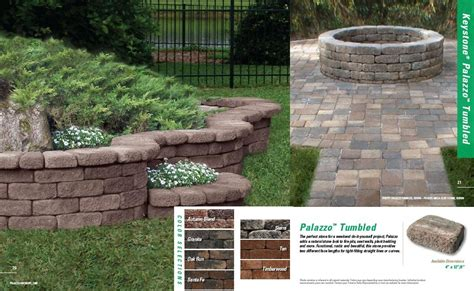 Keystone Brick Pavers by Types Of Pavers We Used