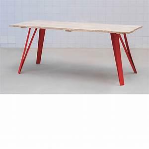 Pied De Table : graf k fabricant de pieds de table et plateau en bois design ~ Teatrodelosmanantiales.com Idées de Décoration