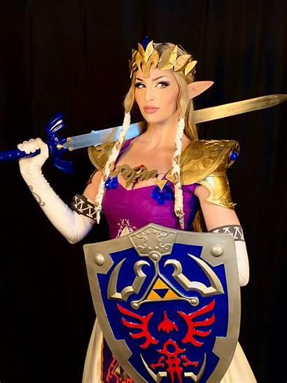 Zelda Cosplay Princess Hard Wanted Worked Hope
