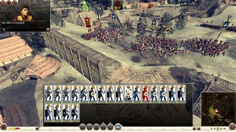 total war rome ii iceni vs rome gameplay siege battle