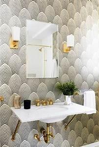 Tapete Für Badezimmer : tapeten ideen f r eine ausgefallene wandgestaltung ~ Watch28wear.com Haus und Dekorationen