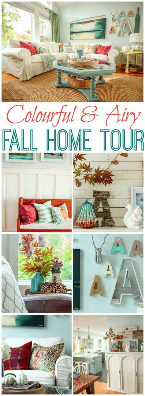 Welcome To My Fall Home Tour!  The Co