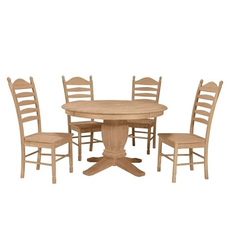 48 inch solid dining table wood you furniture