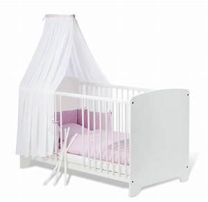 Babybett Weiß 70x140 : babybett wei in 70x140 cm auch als kinderbett jil ~ Indierocktalk.com Haus und Dekorationen