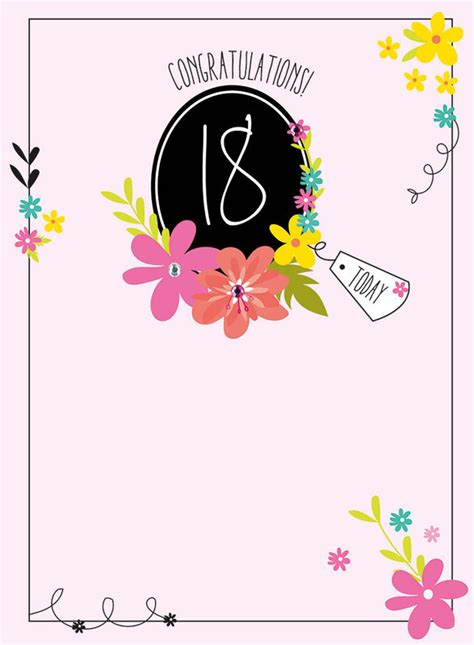 birthday cards ages   collection karenza paperie