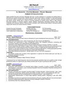 Army Recruiter Description Resume by Resume Exle 57 Recruiter Resume Sle Sle Resume