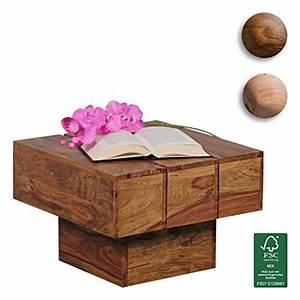 Beistelltisch Holz Massiv : beistelltisch quadratisch holz ~ Indierocktalk.com Haus und Dekorationen