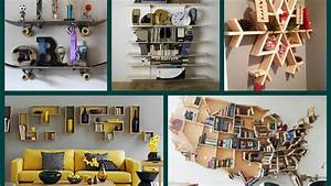 40 new creative shelves ideas diy home decor youtube for Awesome photo wall ideas for your house