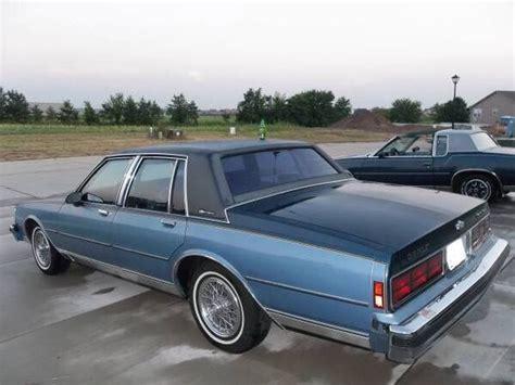 antique ls for sale 1989 chevrolet caprice classic ls brougham sedan ls2
