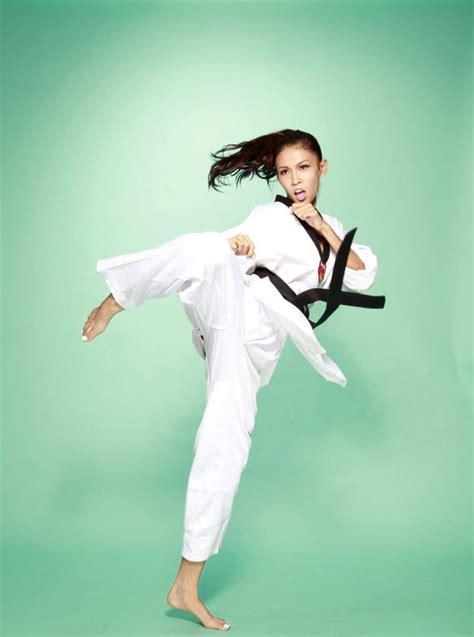 跆拳道冠军女神 张蓝心:最想为运动员做实事_体育_腾讯网