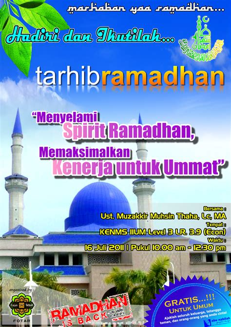 sujudku tarhib ramadhan
