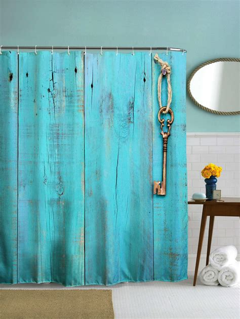 polyester shower curtain 2018 polyester shower curtain with hooks for bathroom