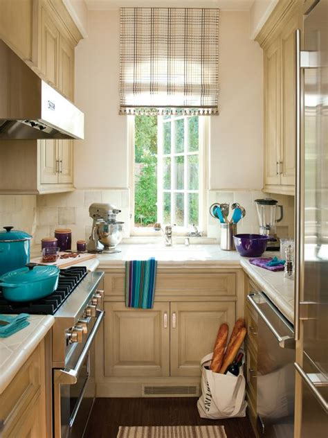 small traditional galley kitchen hgtv