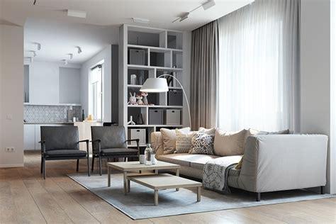Minimalist Idea Brings Coziness Inside Your Living Room