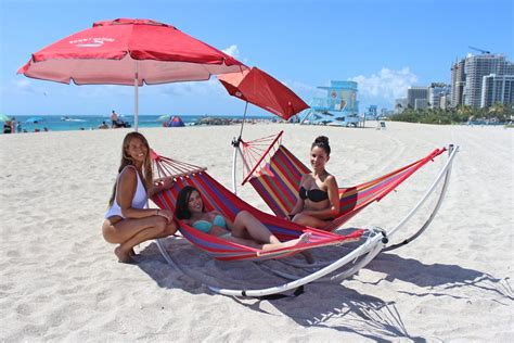 Travel Hammock With Stand by Portable Travel Folding Hammock With Aluminum