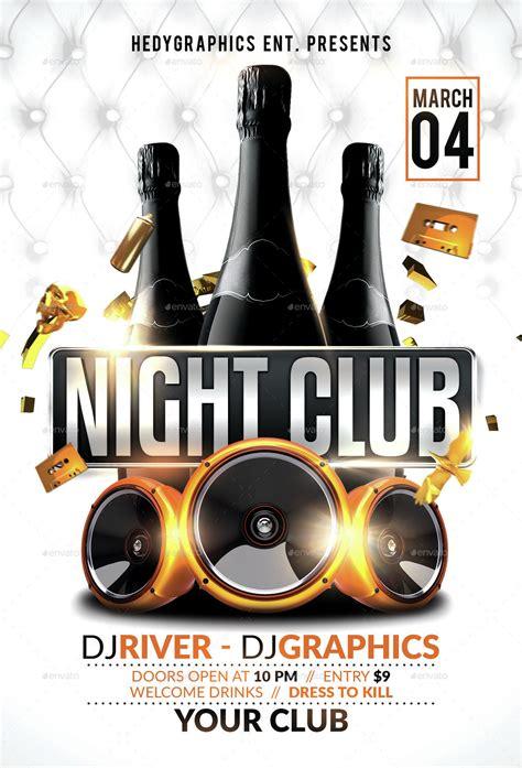 night club flyer emmamcintyrephotographycom