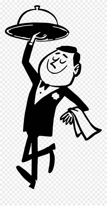 Waiter Clipart Restaurants Restaurant Cartoon Waitor Clip