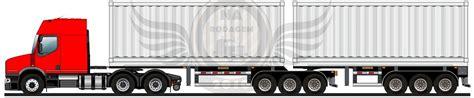 na rodagem man  truck bitrenzao porta container