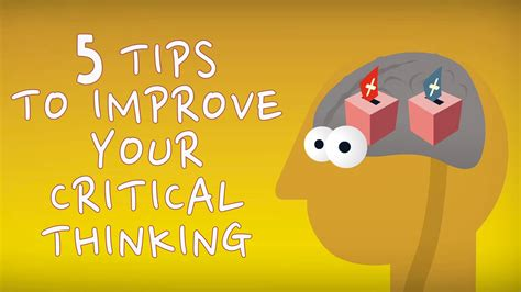 5 Tips To Improve Your Critical Thinking  Samantha Agoos Youtube