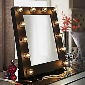 Schminktisch Spiegel Beleuchtet : der broadway schwarz matt hollywood beleuchtet led dimmbar make up spiegel licht ~ Yasmunasinghe.com Haus und Dekorationen