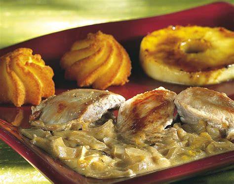 colruyt recettes de cuisine filets de caille sauce aux chicons à la crème colruyt