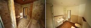 Bad Vorher Nachher : badsanierung badrenovierung in augsburg badumbau aus einer hand ~ Markanthonyermac.com Haus und Dekorationen