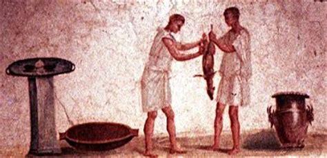 m騁ier de la cuisine la toge et le glaive apicius masterchef de la rome antique