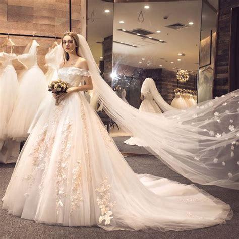 robe mariee dentelle 2018 201 tourdissant blanche robe de mari 233 e 2018 princesse de l
