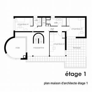 maison d39architecte 240m2 a la ville d39avray 92410 With attractive plan de maison moderne 3 photo de maison darchitecte