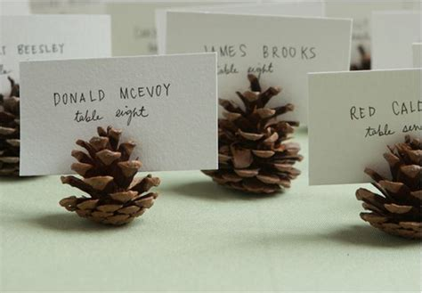 thanksgiving place cards  combine  rustic charm
