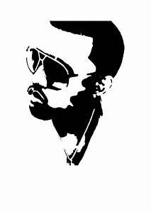 Kanye West: STENCIL by Hoaders on DeviantArt