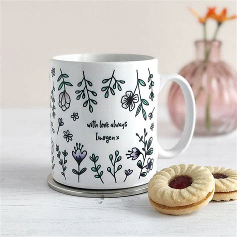 mothers  flowers mothers day mug  cloud