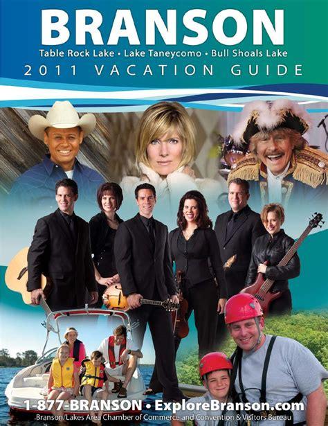 branson vacation guide travel planner branson convention