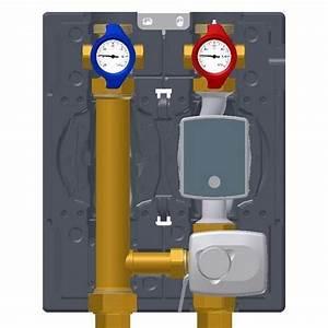 Vanne 3 Voies Thermostatique : module hydraulique avec vanne 3 voies ~ Melissatoandfro.com Idées de Décoration
